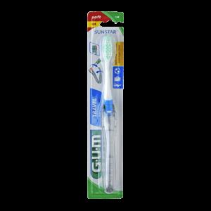 GUM TRAVEL Escova de Dentes